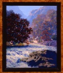 Maxfield Parrish / Swift Water study
